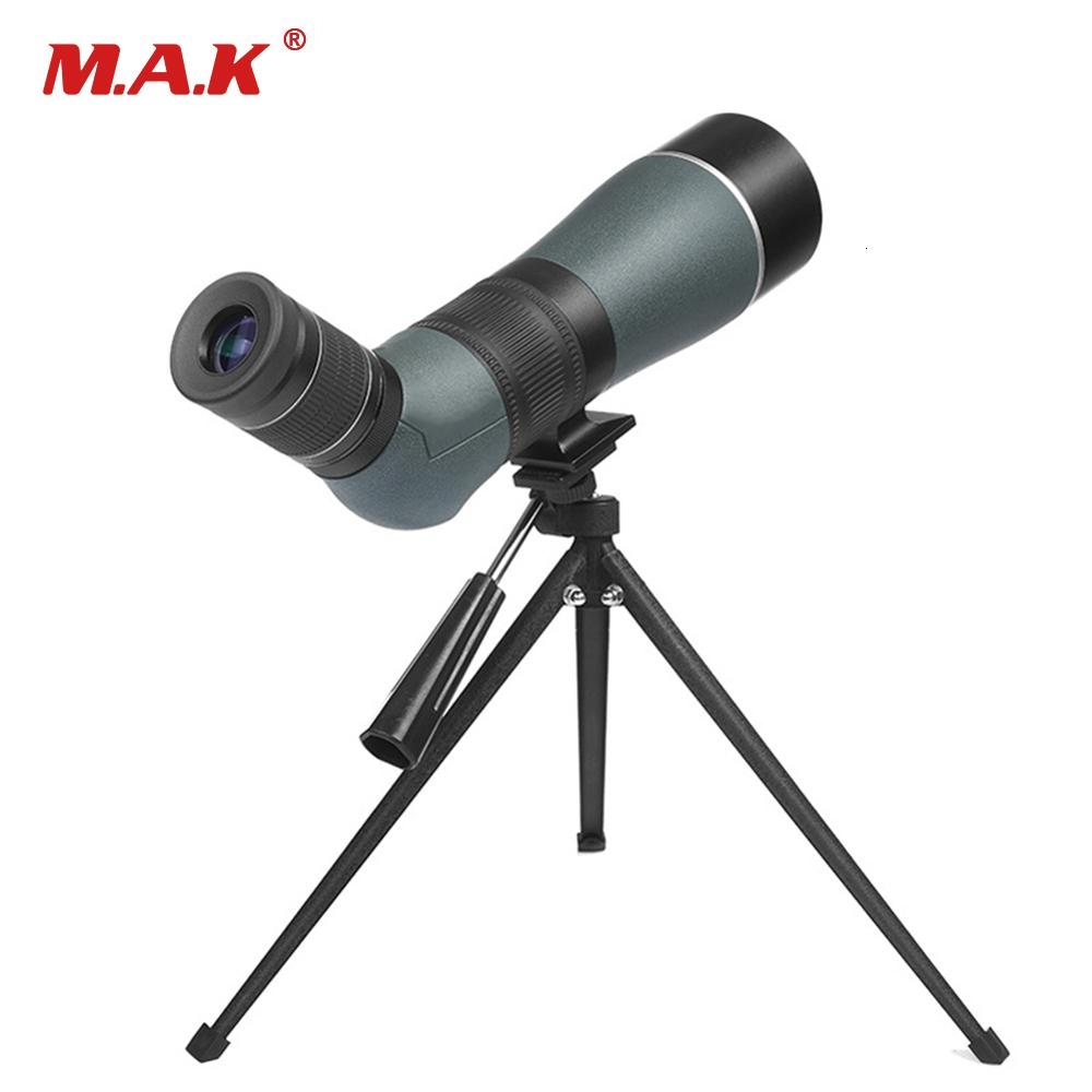 Big Angle 15-45X65 Spotting Scope Zoom Low Light Level Night Monocular Birdwatch & Universal Waterproof T191022