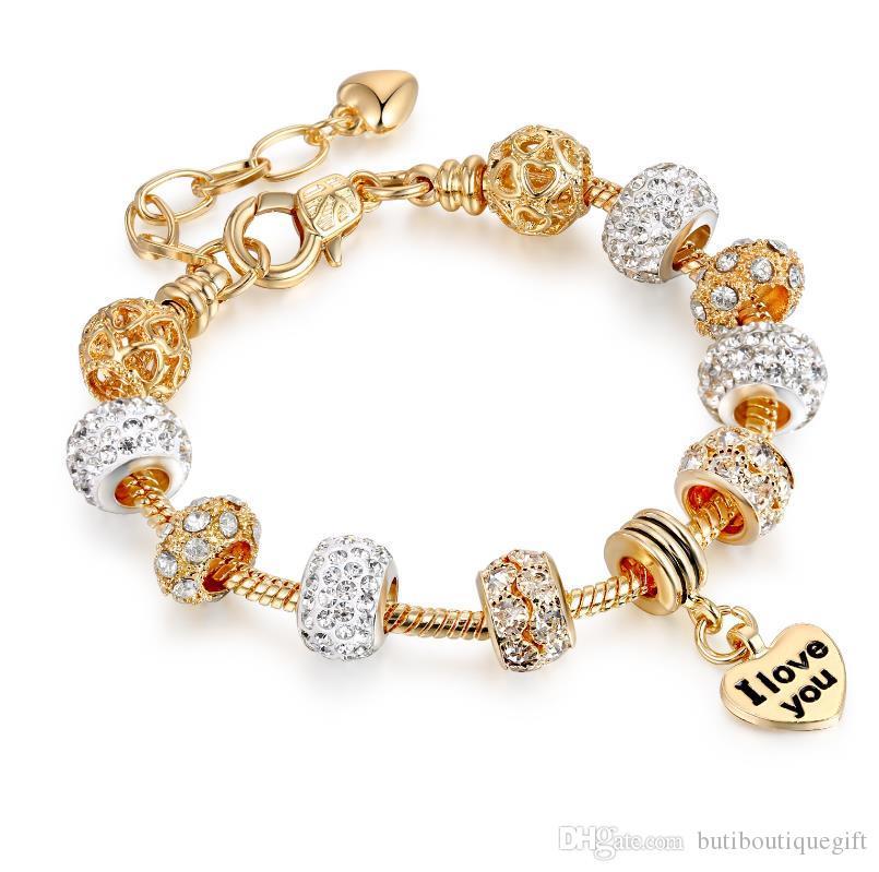 Art und Weise 925 Reflexions Armbänder mit eingraviertem Fit Pandora Stil Schmuck weibliche Retrokette können Sie Größe mischen