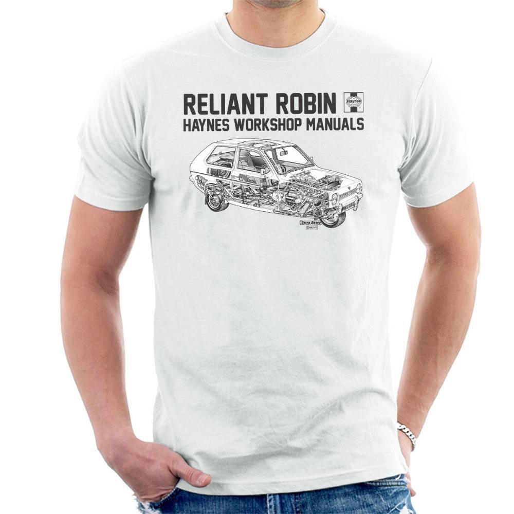 Francia Classic Car Reliant Robin vendedora caliente 100% del algodón del verano La nueva moda de manga corta de Harajuku Tee Shirts