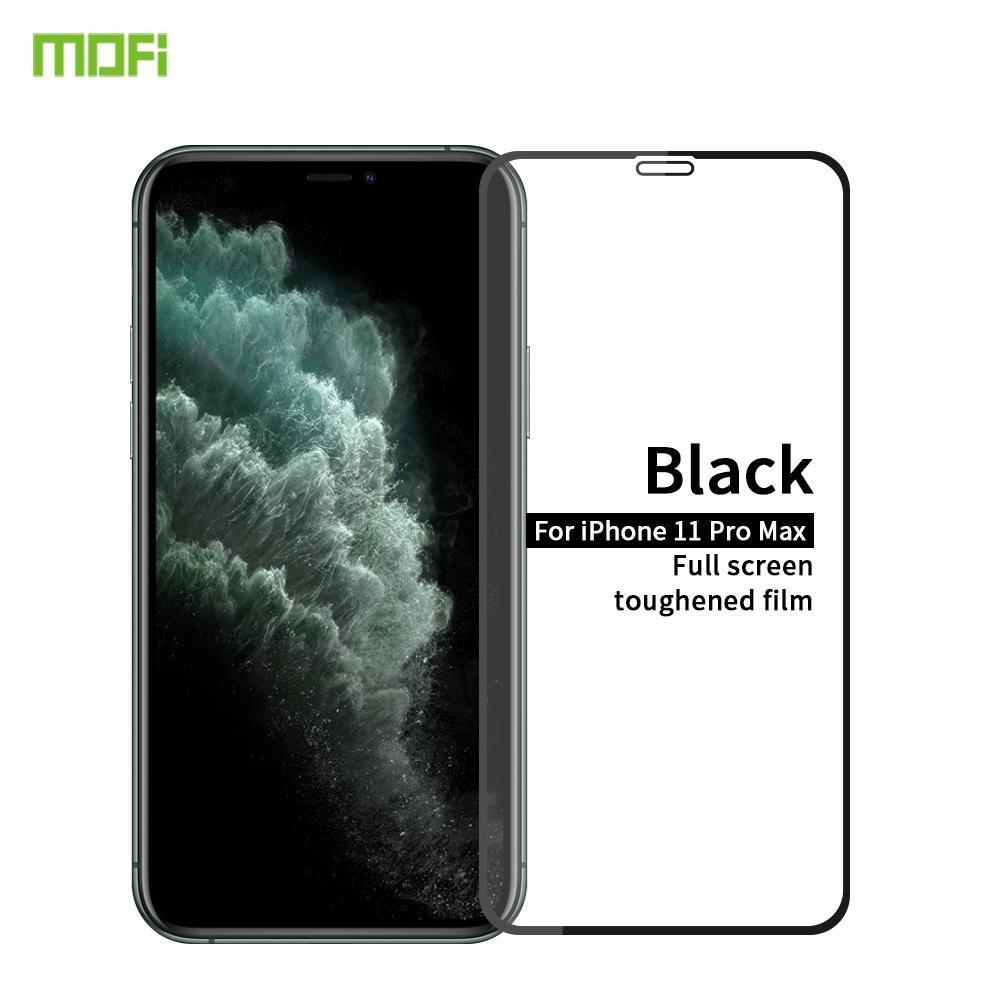 Für iPhone 11 Pro Max MOFI 9H 2.5D Full Screen gehärtetes Glas Film