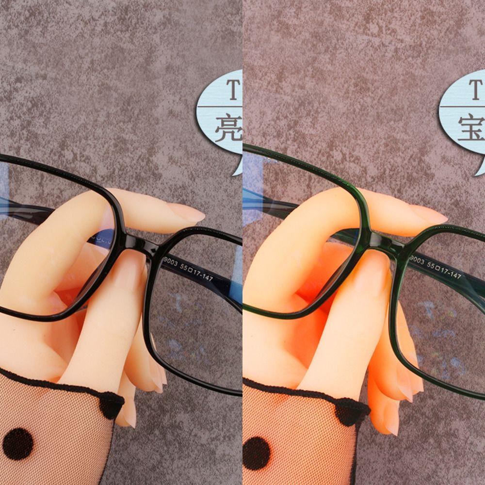 Anti-mavi çevrimiçi kırmızı gelgit düz gözlük Miyop düz gözlük miyopi gözlük çerçevesi ile donatılmış olabilir yüz monte