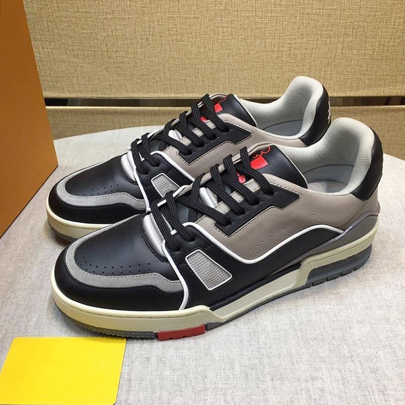 Hombres Zapatos para hombre Footwears moda casual con el origen de la caja del instructor zapatilla de deporte de los zapatos de Zapatos Pour Hommes V125 zapatilla de deporte para hombre Moda En Venta