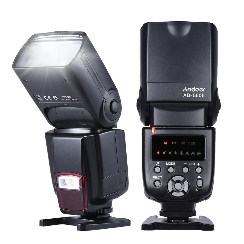 Universal Flash Speedlite LED Fill Light for Canon Nikon Olympus Pentax DSLR Cameras
