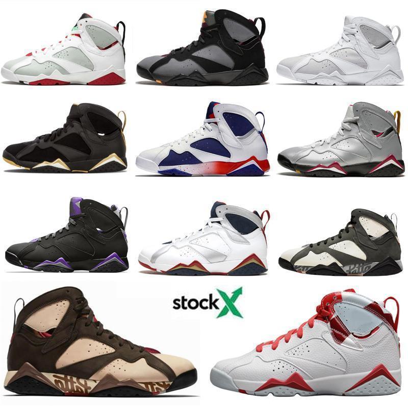 Nike Air Max Retro Jordan Shoes Jumpman 7 7s Баскетбол обувь Патта Olympic NakeskinИорданияРетро GMP французский Рэй Аллен Тинкер Альтернативные Hare Кроссовки Кроссовки