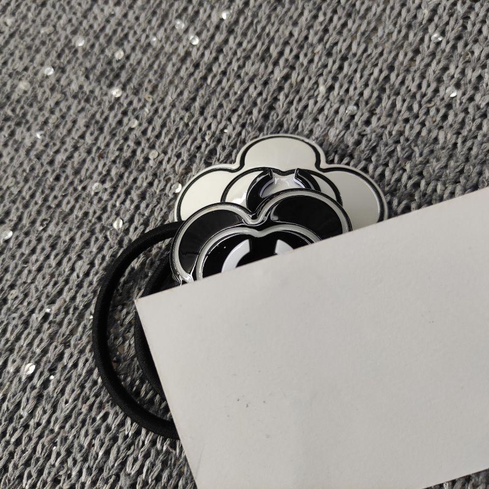 Neue herrliche Acryl Camellia Mode Haarriegel Mode c Symbol hairrope Sammlung Zubehör mit Papierkarte