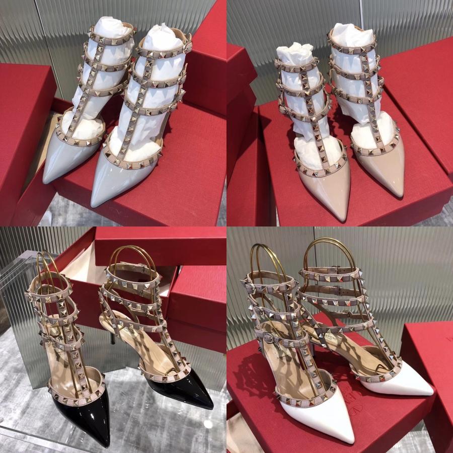 Vestido de festa Moda Sandálias Sexy Enrole Tornozelo Aberto Toed sapatos para as mulheres casamento Bombas 11.5cm Salto Alto lantejoulas Gladiator Sandals R02 # 582