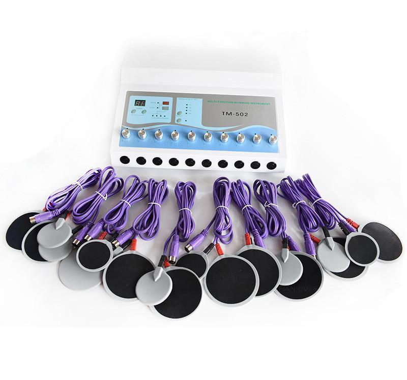 Corpo aptidão emagrecimento máquina fisioterapia máquinas de perda de perda de muscle muscle stimulation electro dispositivo de perda de gordura