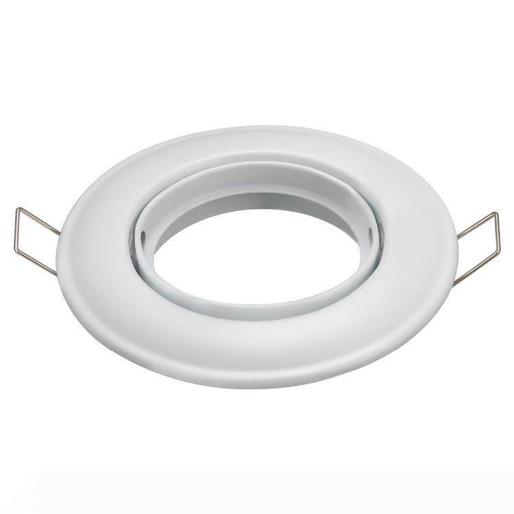 السقف مصباح حامل MR16 الإطار الحديد الجسم GU10 GU5.3 المناسب مع اعبا اساسيا أضواء قاعدة GU10 MR16 المقبس التطبيقية السقف