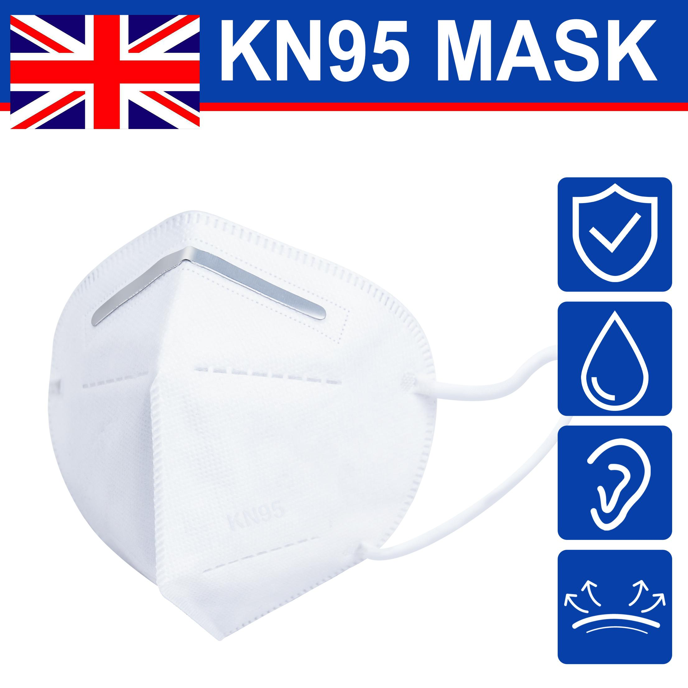 DHL Free Ship Uk Stock 5 Layers Face Masks with Box Reusable Dustproof Windproof Protective Mouth Anti-Fog Dust-proof Masks