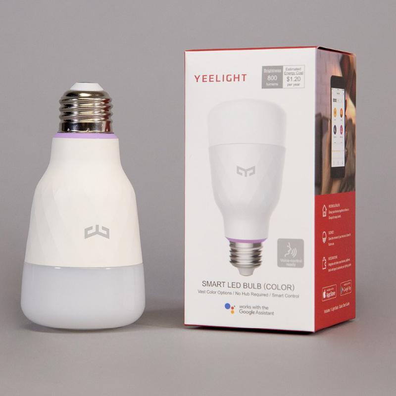 (2020 نسخة تحديث) yeelight الذكية لمبة LED الليمون 1S الملونة 800 شمعة 10W الليمون الذكية لمبة العمل مع أبل homekit