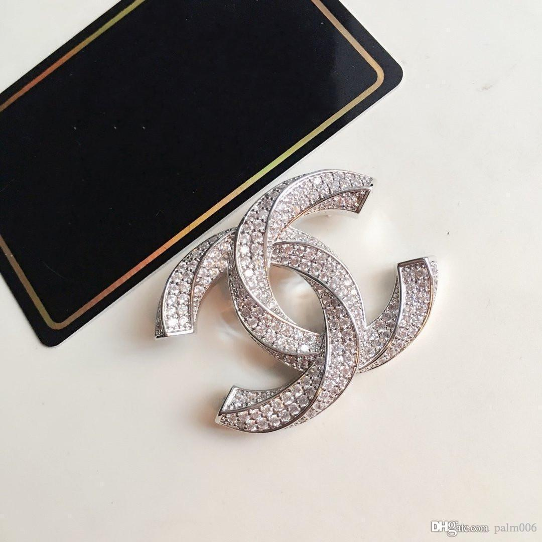 Nouveau produit avec Broche diamant Top Broche Qualité de haute qualité Broche Femme Accessoires de mode sauvage d'alimentation