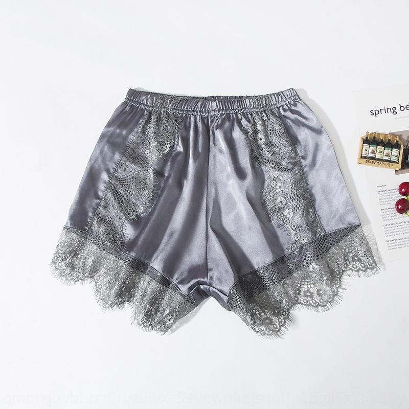 protección de las fronteras de la flor de tres puntos de seguridad pantsCoat pantalones de seguridad DjvIW cordón de las mujeres ligeras de verano finas prendas exteriores más el tamaño de las polainas sueltas