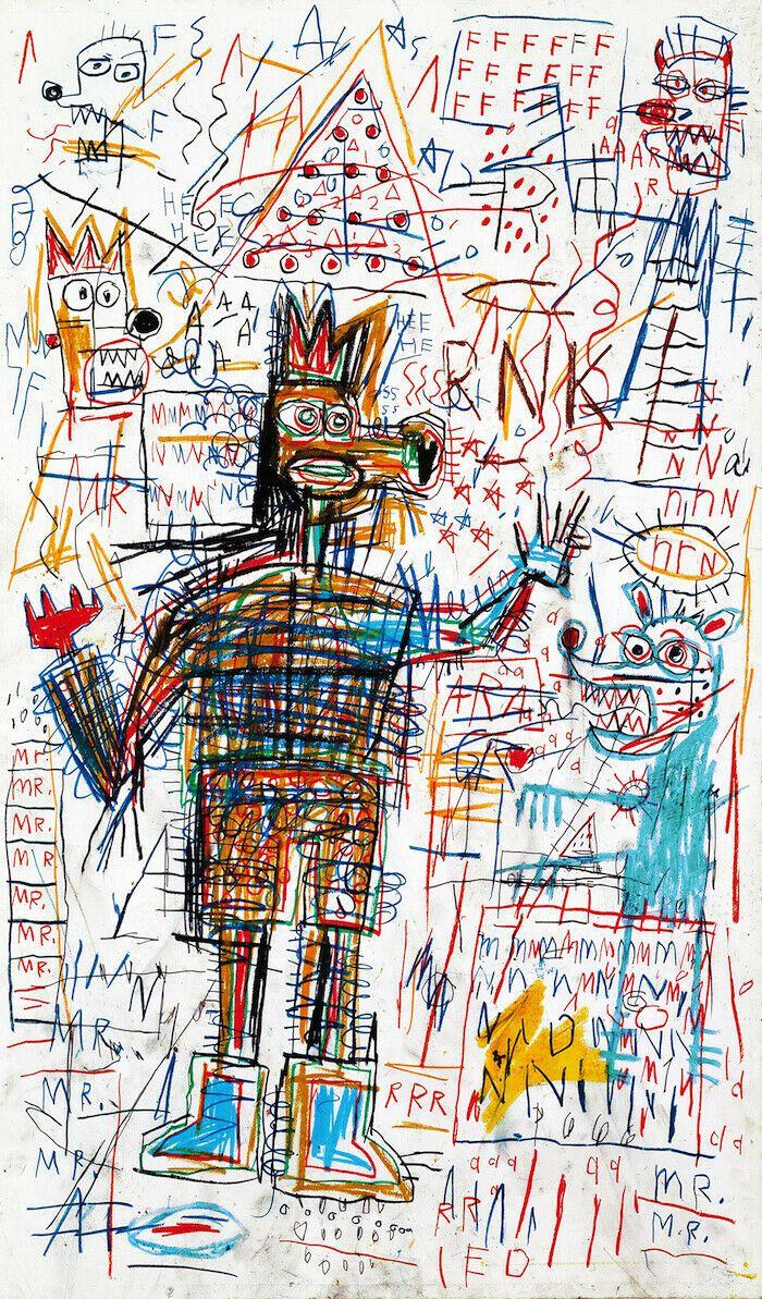 Jean Michel Basquiat Özet sanat Adsız Çizim Ev Dekorasyonu Handpainted HD Yağ Tuval Wall Art Canvas Pictures 200730 On Boyama yazdır