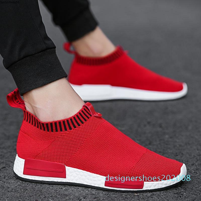 Sneakers Air Cork Männer Breathable Männer Schuhe Mesh-Sneakers Beleg auf Sommer Nicht Leder beiläufige Leichte Socke Schuhe Herren Sneakers Y200104 d08