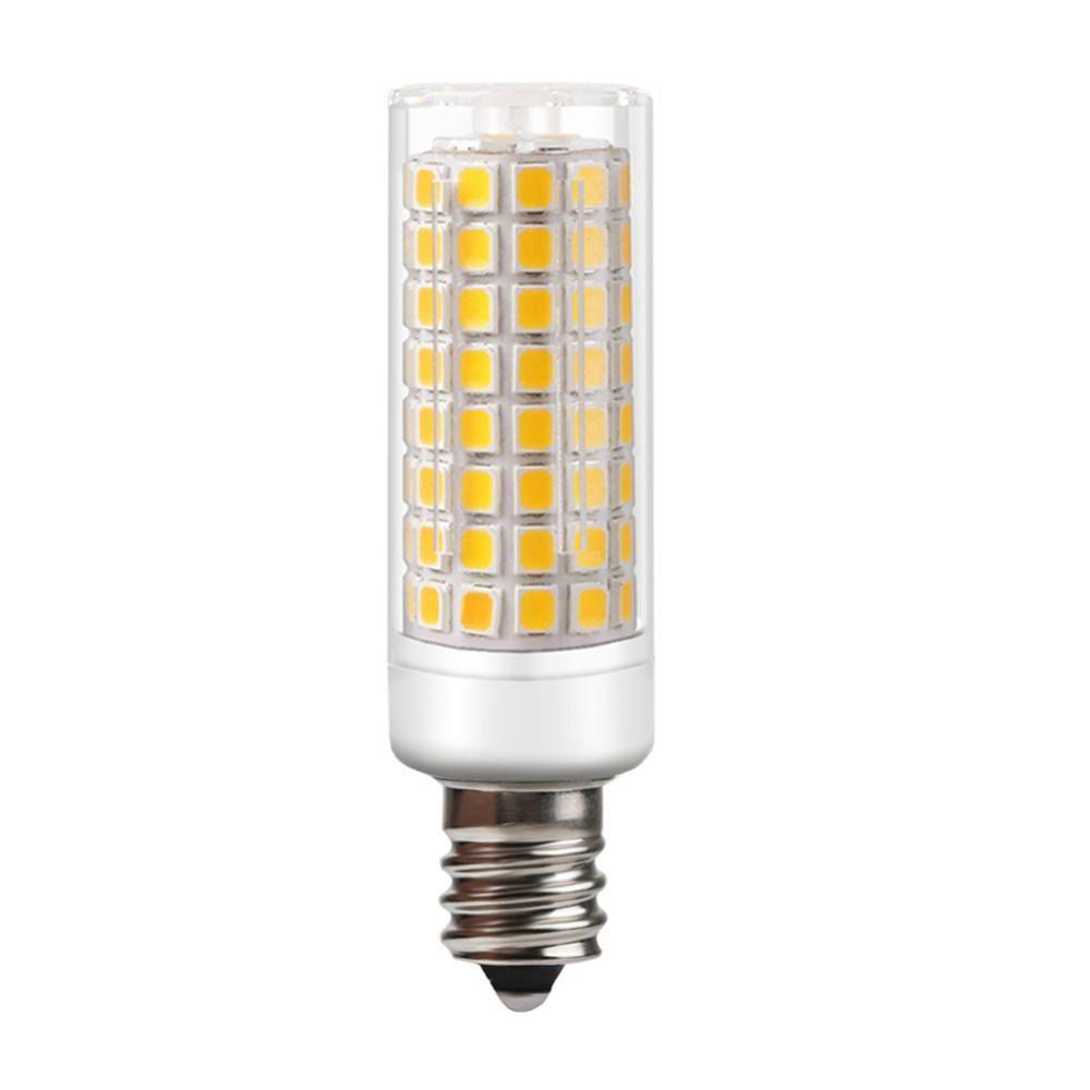 LED E12 керамические лампы 7W AC 110V и 220V E12 светодиодные лампы заменить галогенные лампы в качестве люстры освещения