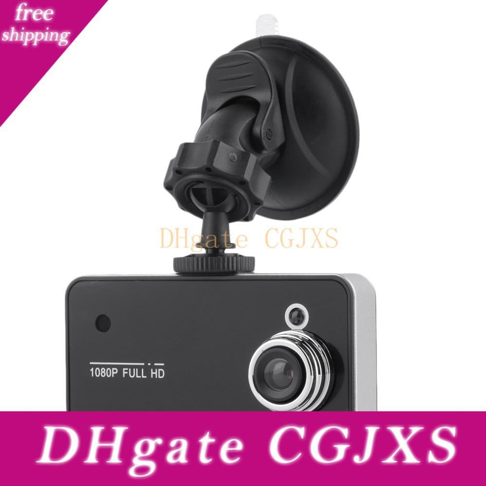 """K6000 2.4"""" Full HD 720P TFT pantalla de la cámara del coche DVR de la cámara del registrador de la rociada con videocámara de la leva del vehículo del G-sensor de Registrator con Box"""