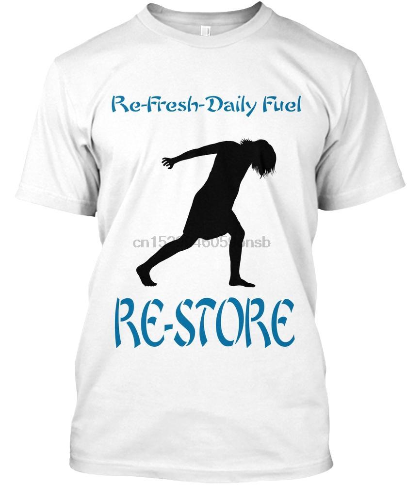Camiseta de los hombres DailyFuel Re-Store (# 16) (1) Mujeres camiseta