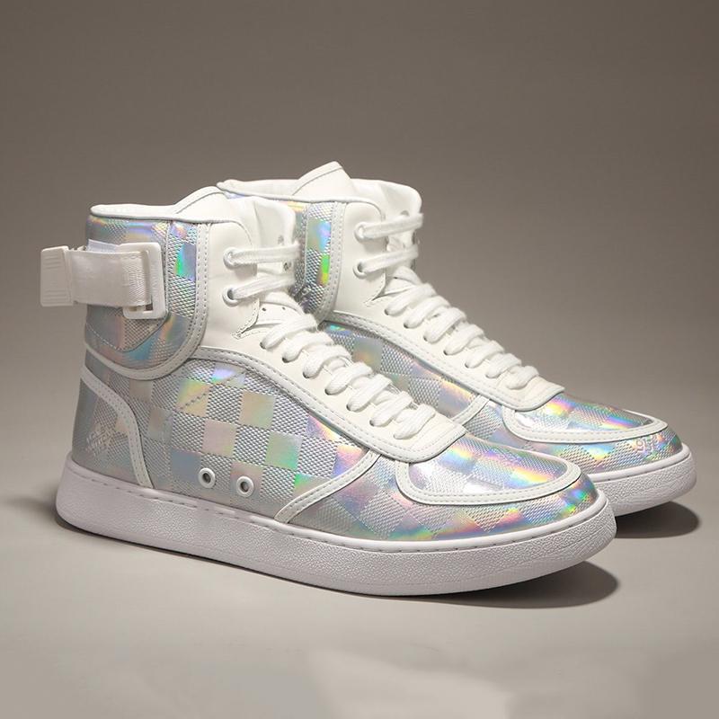 Nouveau Top qualité Rivoli Sneaker Bottes Chaussures Hommes Chaussures De Moda Para Hombre Respirant Automne et Hiver Footwears Dentelle -Jusqu'à Sport Hommes Bottes