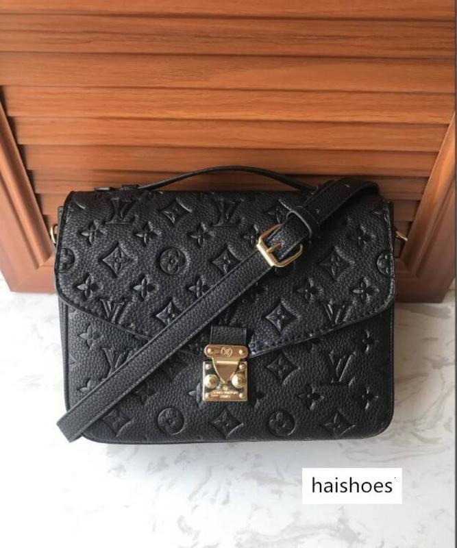 2020 Free shipping Sacs à bandoulière de sac à main des femmes de haute qualité Messenger femmes sac en cuir de crossbody T6