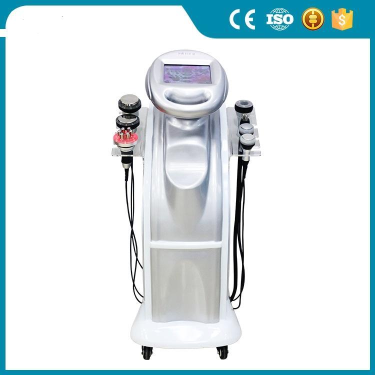 초음파 바디 쉐이핑 기계 80K RF 진공 캐비테이션 슬리밍 기계 체중 감소 바디 슬리밍 아름다움 기계 선적 및 세금 freee