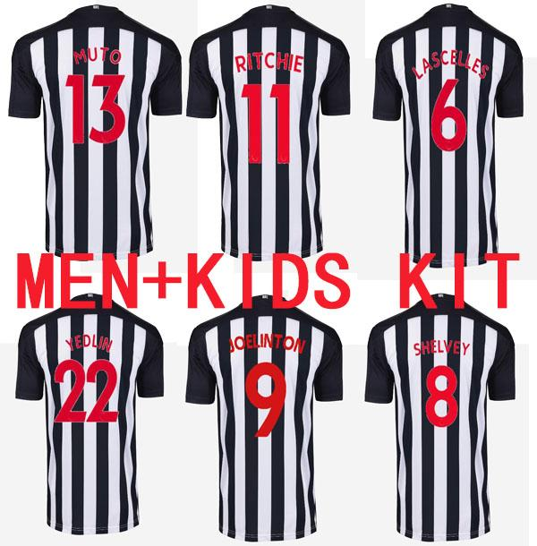 2020 2021 Ritchie Jerseys de futebol Home United Joelinto 20 21 Home Lascelles Shelvey Football Yedlin Camisetas Homens Kit Kit Tailândia