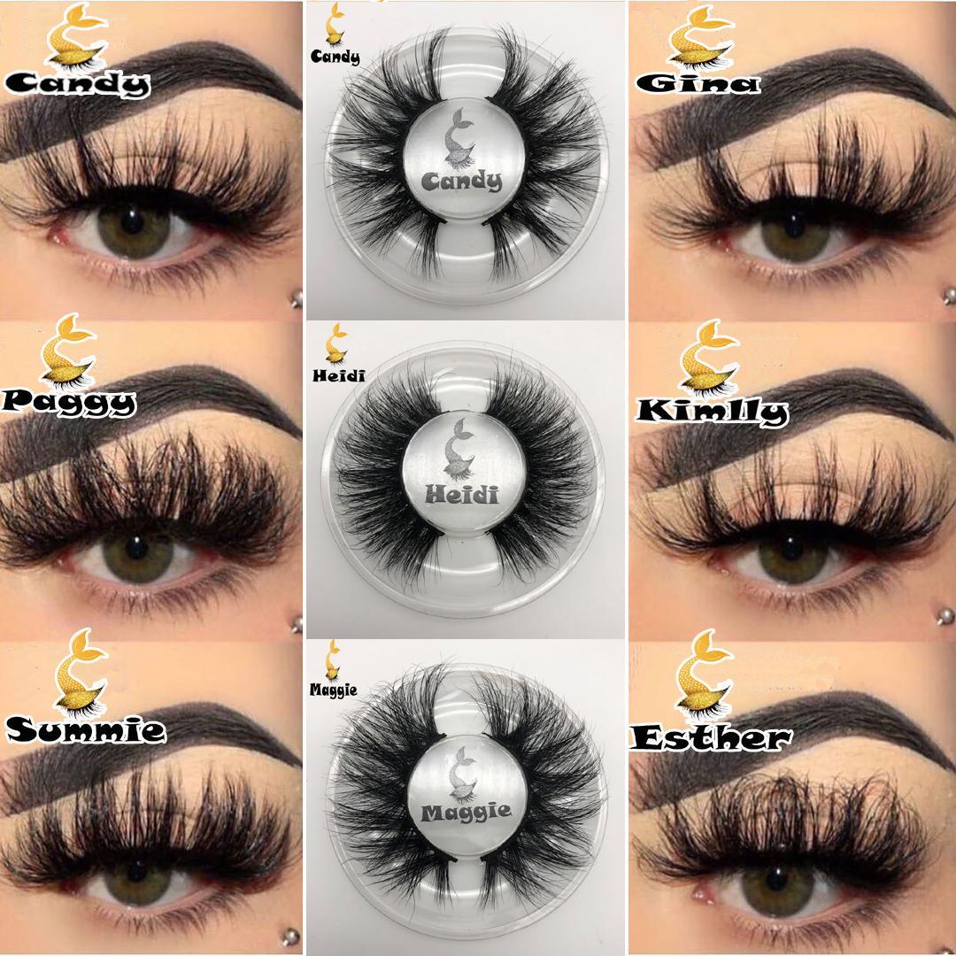 21 Arten 3D Mink Wimper-Augen-Make-up Mink falsche Wimpern weiche natürliche starke gefälschte Wimper 3D-Augen-Peitsche-Verlängerung Mink Wimpern DHL geben