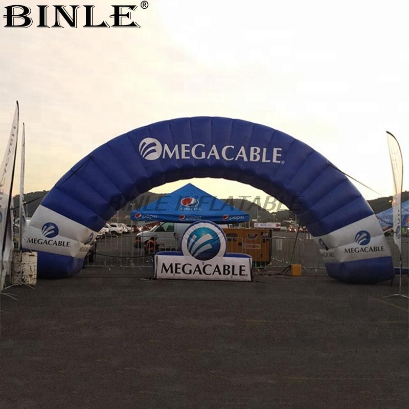 Customized special designed large outdoor round inflatable arch for activities exhibition opening ceremony advertising