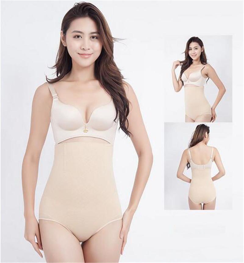 Mulheres cintura alta shaper do corpo calcinha emagrecimento alta instrutor cintura Pants Shapewear Magro Sexy Cueca DHL transporte livre
