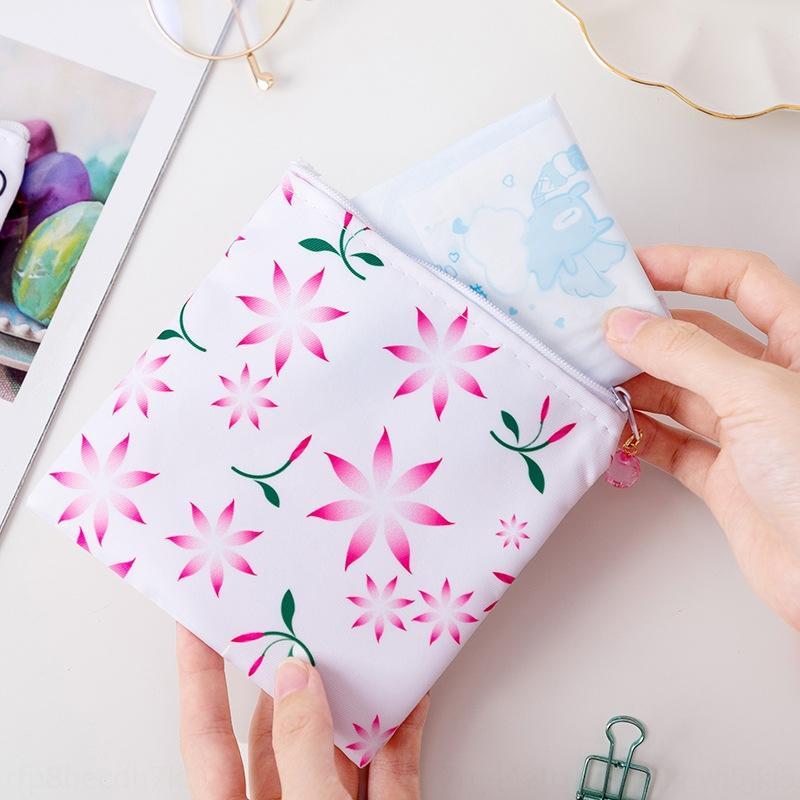 Netter Reißverschluss Damenbinde Damenbinde Lagerung Tante Handtuch Tasche m Handtuch monatlichen Tasche Geldbörse Speicher