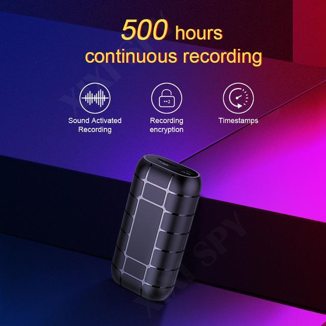 Elettronica di consumo XIXI SPY 500hours micro registratore vocale dittafono penna mini audio audio attivati digitale unità flash professionale