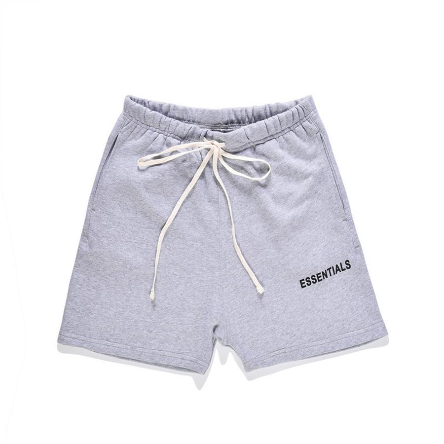 Fundamentos de pantalones para hombre del mono de los pantalones casuales sólido Joggers Streetwear 2020 Mens esenciales suelta Shortsleeve de moda los pantalones de los mamelucos cargame # 122