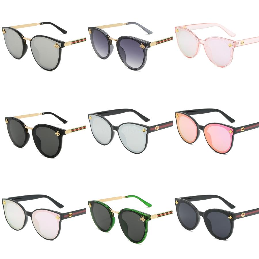 0898 Men Women Mask Sunglasses UV Protection Lens Fashion Oval Coating Mirror Lens Frameless Color Popular Plated Frame Come With Package#935