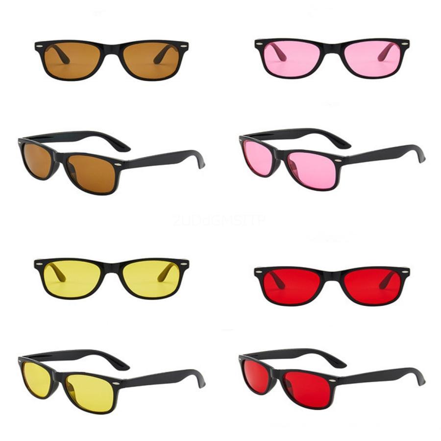 Yeni Güneş Erkekler Den Gözlük Alf Çerçeve Sqre Retro Çerçeve Fasion Klasik Old Style UV 400 Mercek Koruma Gözlük Wit # 976