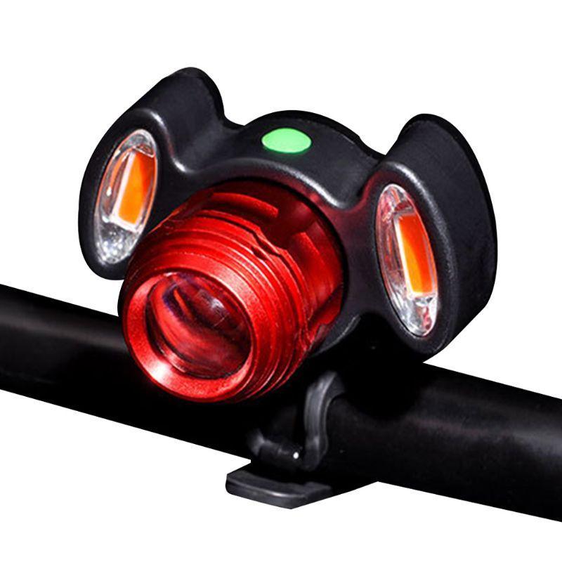 Ricaricabile Notte Super Bright biciclette Evidenziare USB di guida LED di sicurezza della lampada facile da installare per strada mountain bike