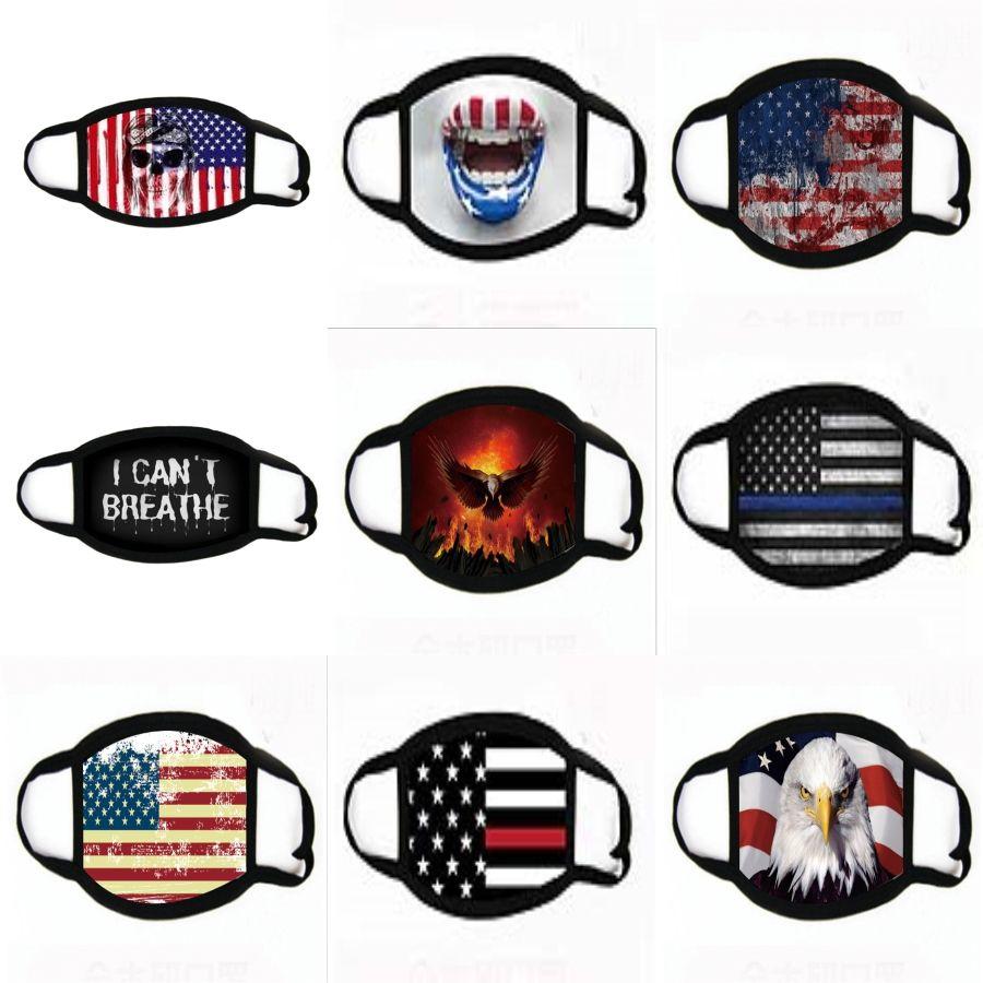 Neue S-Gesichtsmaske Waschbar Wiederverwendbare Face Shield Anti-Staub-Mund-Masken Breathable Anti-Staub-Schutz HHA1392 # 895