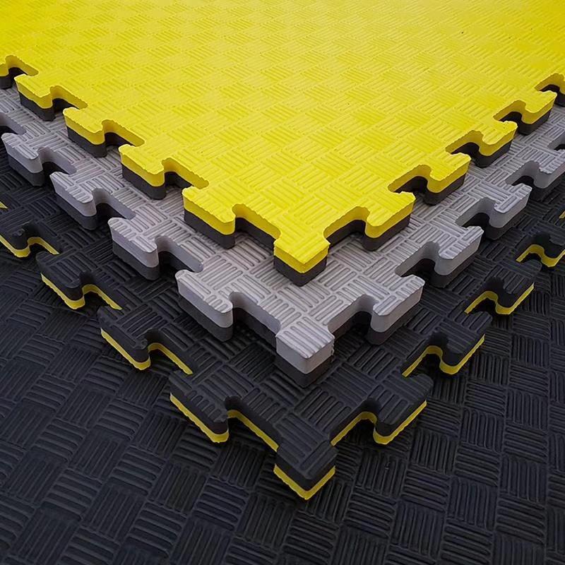 Taekwondo planta baja boxeo Sanda tierra Mat MMA entrenamiento en tierra EVA material elástico