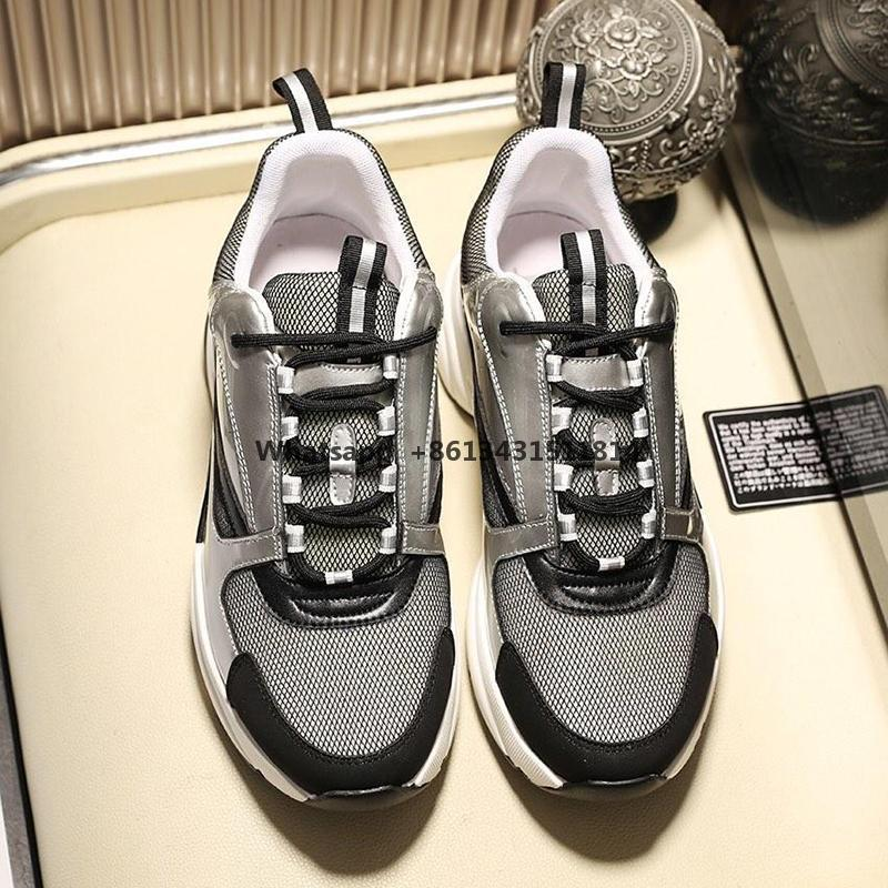 Schneller Versand Herrenschuhe B22 Leinwand und Kalbsleder Sneaker Atmungsfähig Leicht Spitze -Bis Herren Schuhe Bequeme Outdoor-Walking-Schuhe Sale