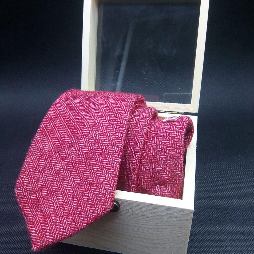 2020 vermischte feste Box Hochzeit 2020 Holz die Farbe Männer gemischt feste Farbe Krawatte Riegel der Männer hölzerne Box Hochzeit Wolle Wolle