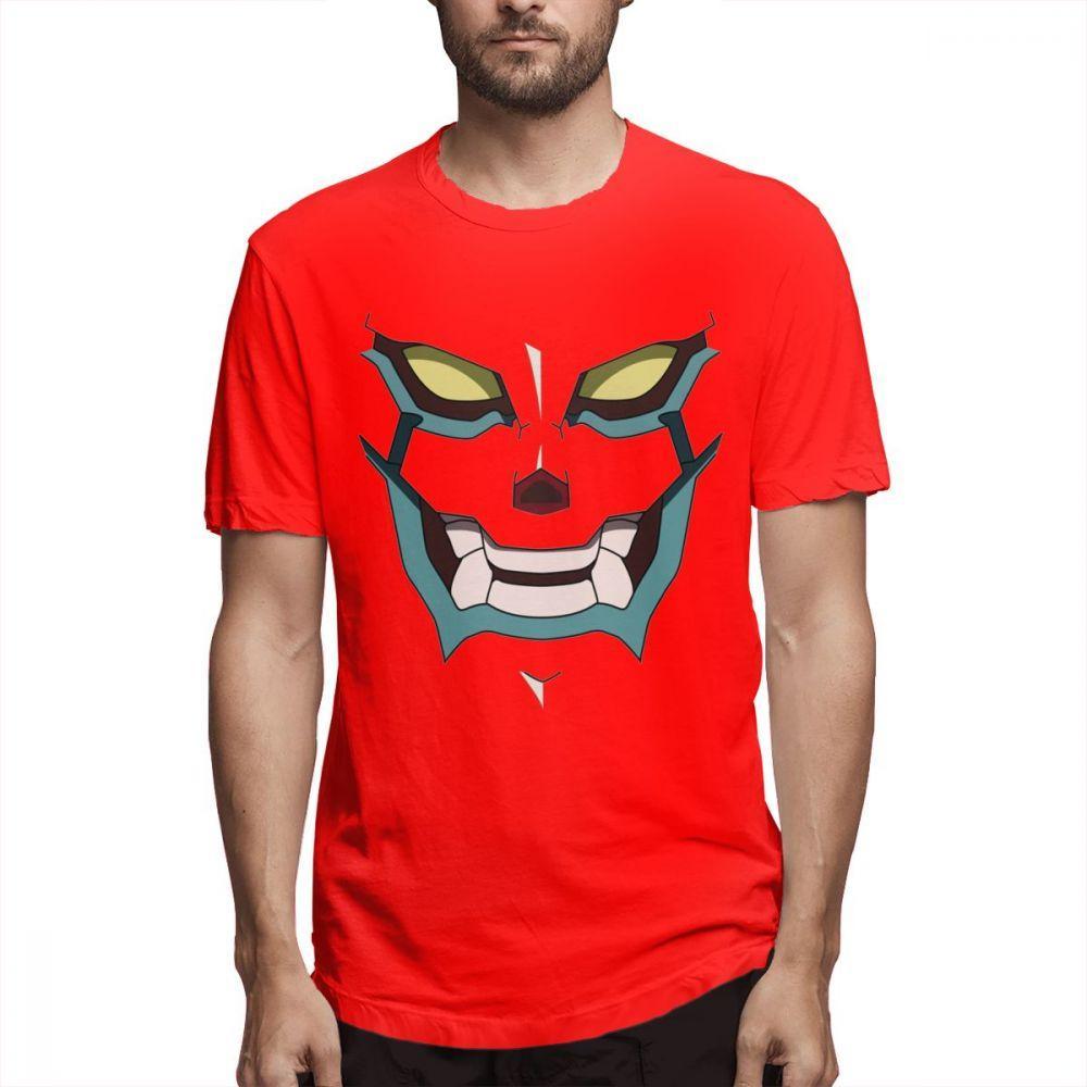 Neuheit Tengen Toppa Gurren Lagann T-Shirt Punkrock-Männer-T-Shirt Mann Anime-Karikatur 100% Plus Size T-Shirt aus Baumwolle