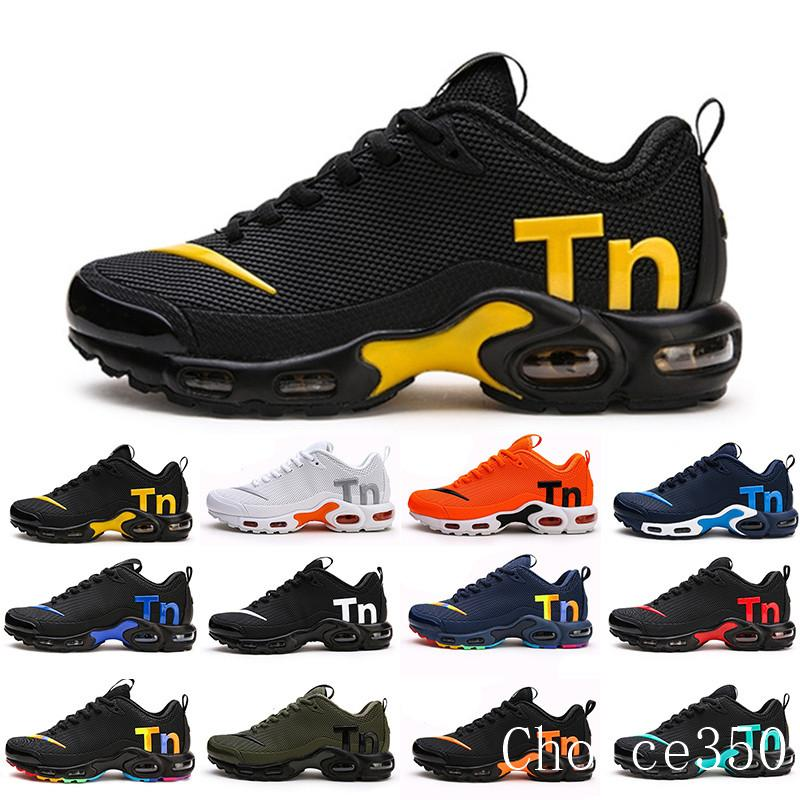Mercurial TN Mens Designer Running Shoes 2019 Men Casual Air Cushion Dress Trainers Outdoor Best Hiking Jogging Sports Sneakers US 7-12 RTK6