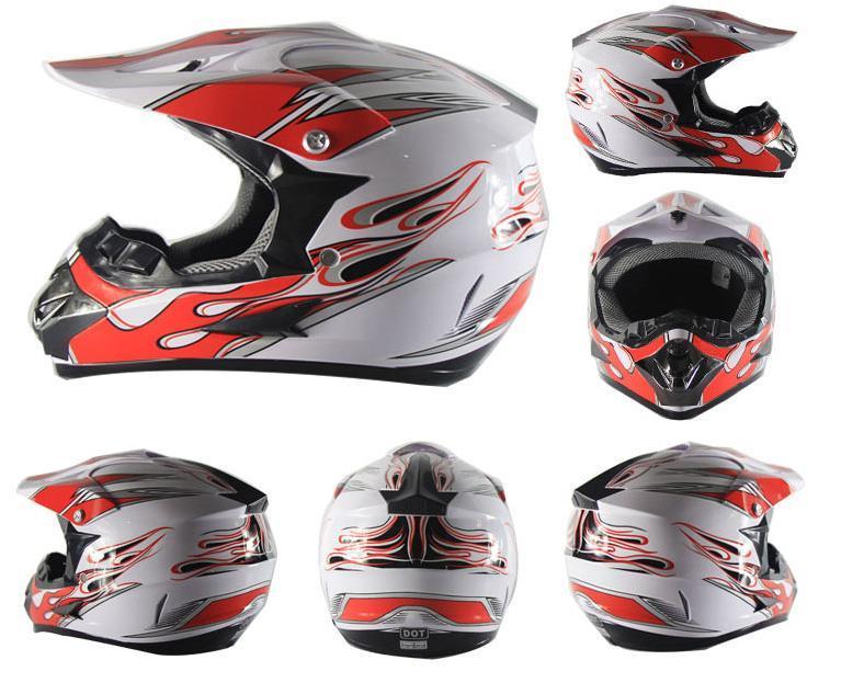 htmotostore3 spedizione gratuita casco motocross fuori strada ATV Cross Helmets MTB DH Racing Motorcycle Helmet Dirt Bike Capacete
