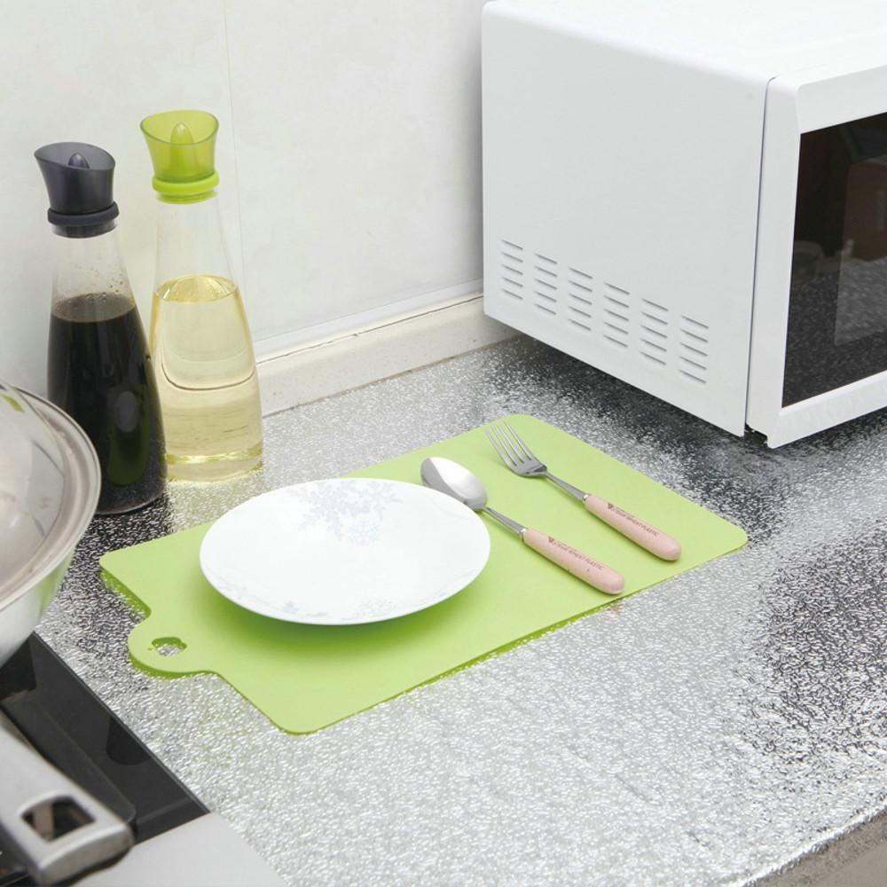 Самоклеящиеся водонепроницаемый маслостойкой алюминиевая фольга кухни стены наклейки стены кухни наклейки