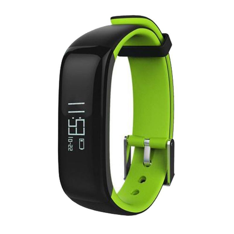 P1 Smartband Tensiomètre intelligent bande Podomètre activité Tracker Pulse Moniteur Bracelet de remise en forme pour téléphone 2018 bonne