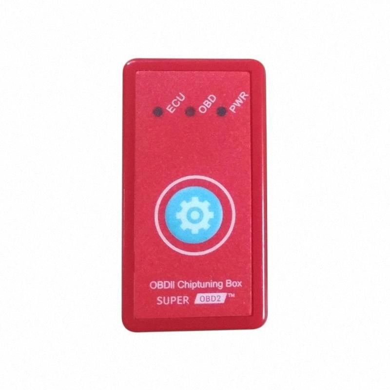 Sıfırlama Düğmesi Güç Prog Kırmızı İçin Dizel Otomobil Chip Tuning Box Tak Sürücü Nitro OBD2 Fazla Güç Tork YQG3 # İle Yeni Versiyon NitroOBD2