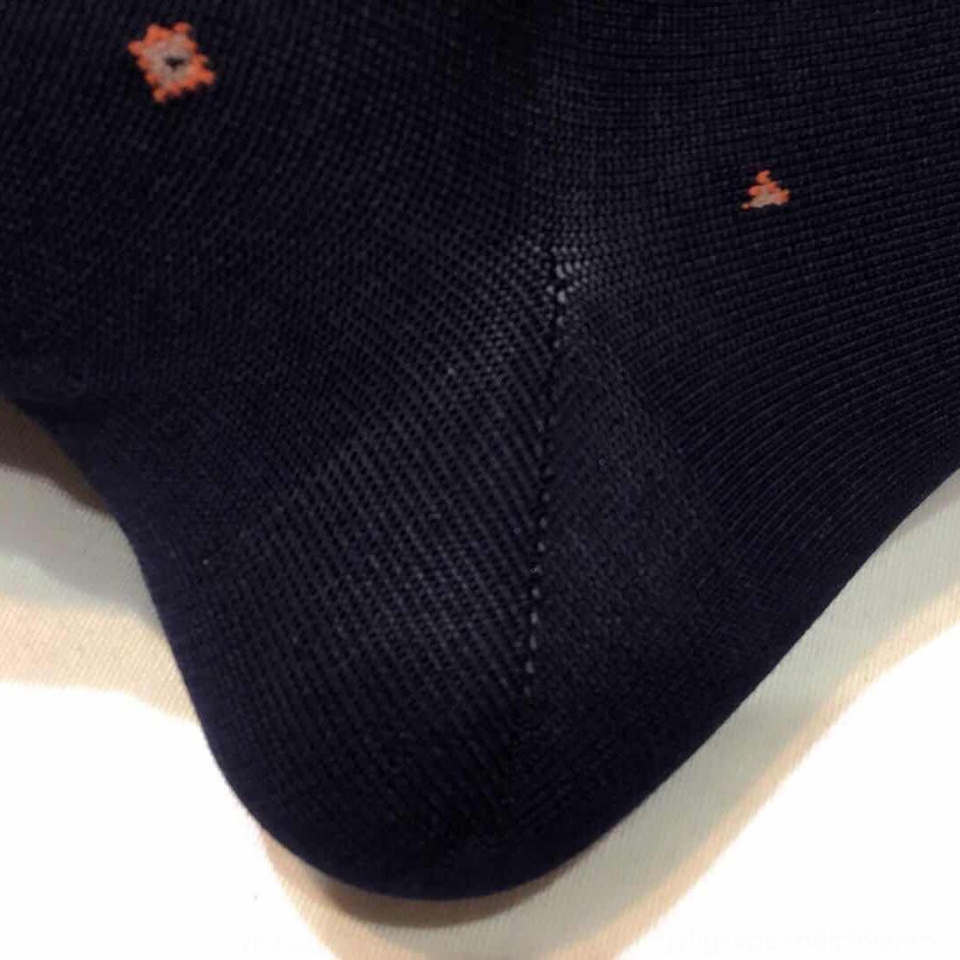 stTvV 2020 nueva rombo de algodón de color pequeño calcetines de algodón de los hombres de negocios benymycolor caballero calcetines que absorben el sudor de los hombres