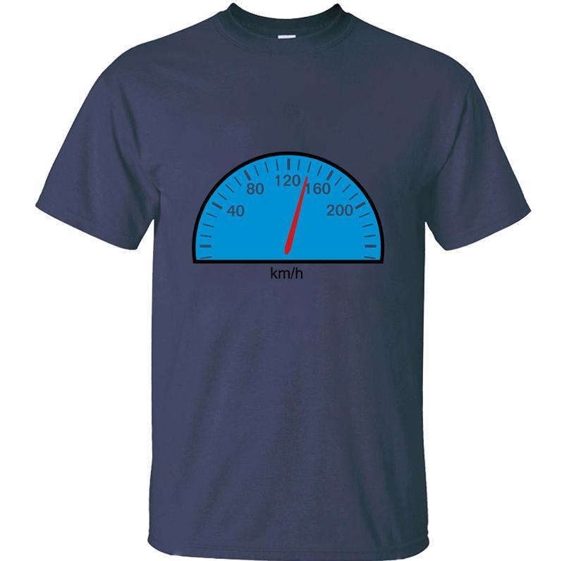 Baskılı Süper Kilometre tişört erkek ve kadın yaz Yenilikçi kadın tişört Euro Boyutu S-5XL Kısa Sleeve Hipster Tee üstleri