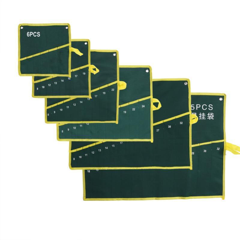 6/8/10/12/14/25 Taschen-Grids Green Storage Tasche Schraubenschlüssel Werkzeugkoffer-Organisator-Fall-Halter-Ausgang Durable
