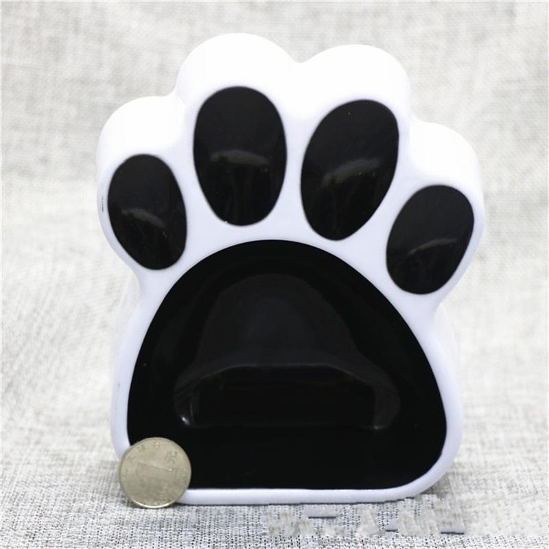 Une seule petite épaississantes bols pour chiens Empreintes du bassin d'alimentation Belle Abreuvoir Feeders Pet Supplies Pure Color 3 8cm bb