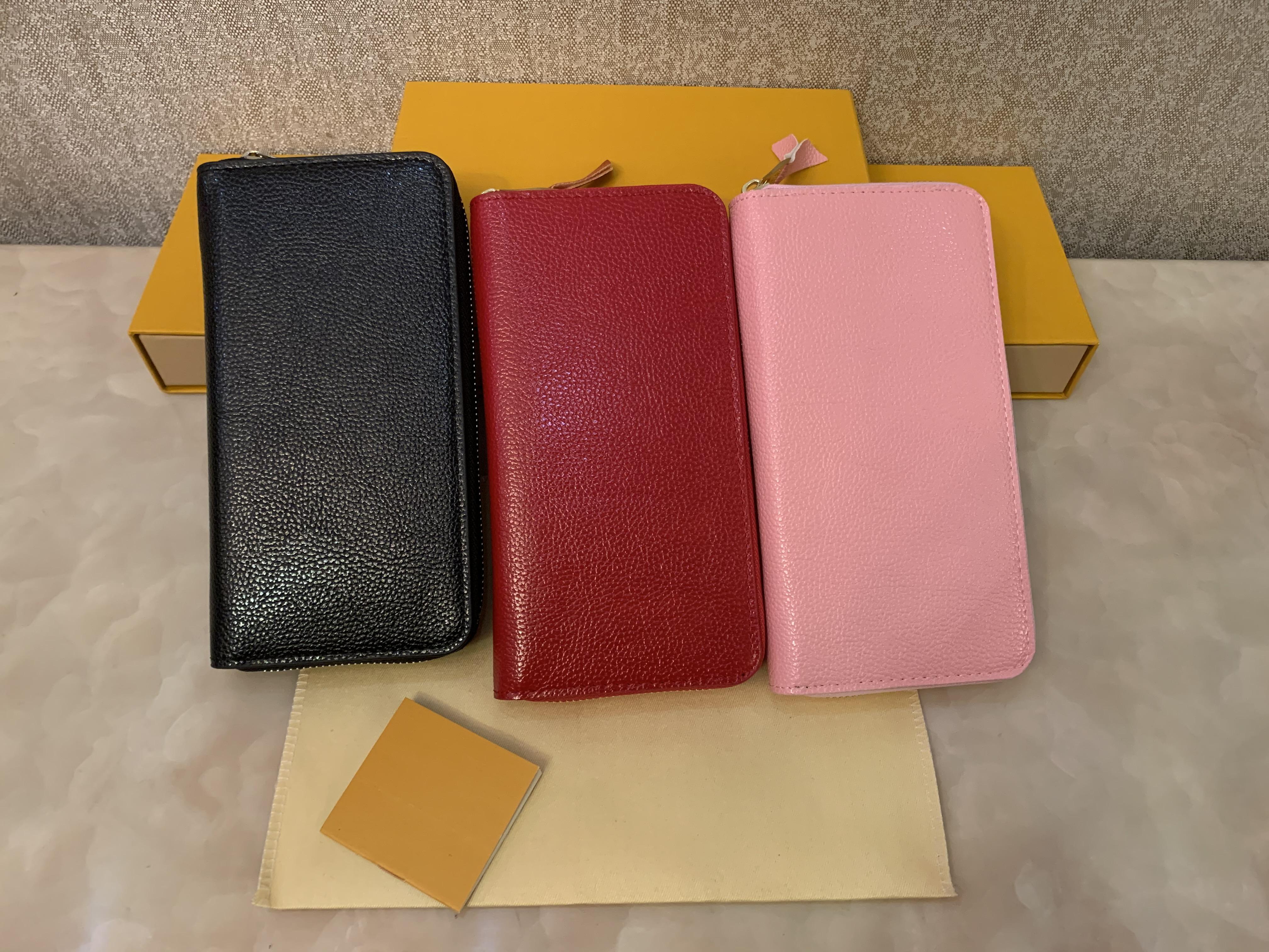Zippy Çanta Cüzdan Kart Tasarımcısı Kutusu Cüzdan Çanta Tasarımcı Bayan Cüzdan Deri Debriyaj Tek Tutucu Cüzdanlar ile Nakliye PMGPR