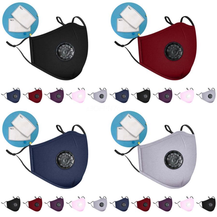 11Lph 50 1Pcs de diseño Máscaras impresa boca gruesos de 3 capas para el envío de polvo del aire Máscara El bloqueo de la contaminación protección o Ems F # 232 # 403